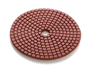 Flexible Wet Polishing Pads for Stone